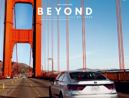 BEYOND BY LEXUS Magazine3
