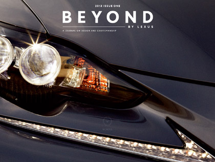 BEYOND BY LEXUS Magazine4